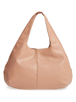 SOLE SOCIETY Rouge Faux Leather Hobo