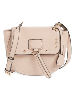 SOLE SOCIETY Studded Faux Leather Crossbody Bag