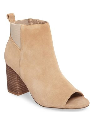 SOLE SOCIETY Vita Peep Toe Bootie