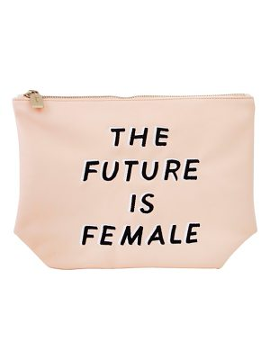 SONIX The Future Is Female Faux Leather Everyday Pouch