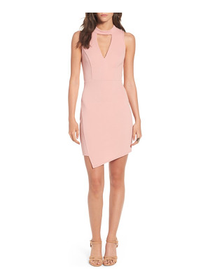 Soprano asymmetrical body-con dress