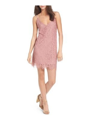 SPEECHLESS Scallop Hem Lace Slipdress