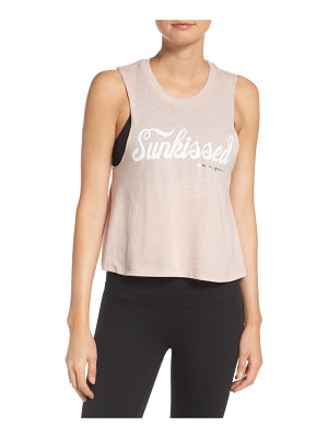 Spiritual Gangster sunkissed crop tank