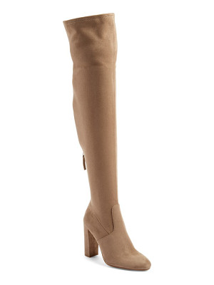 STEVE MADDEN 'Emotions' Stretch Over The Knee Boot