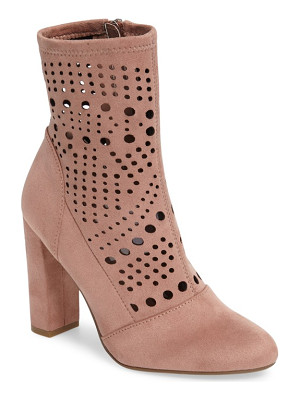 STEVE MADDEN Ennie Perforated Bootie