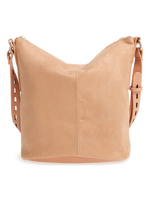 Street Level faux leather bucket bag