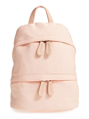 STREET LEVEL Faux Leather Trim Backpack