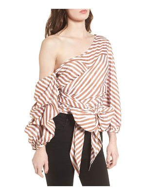 STYLEKEEPERS Wrap Me In Love One-Shoulder Top