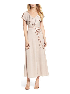 TAYLOR DRESSES Ruffle Maxi Dress