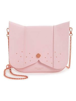 TED BAKER Barkley Dog Leather Crossbody Bag