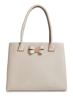TED BAKER Callaa Bow Leather Shopper