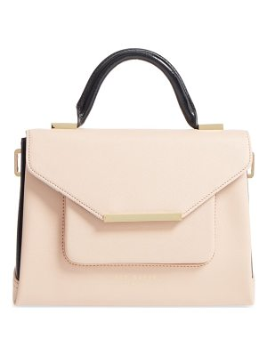 TED BAKER Faux Leather Satchel