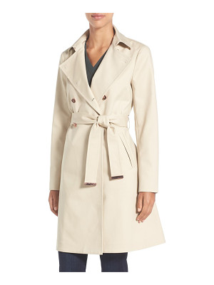 Ted Baker London flared skirt trench coat