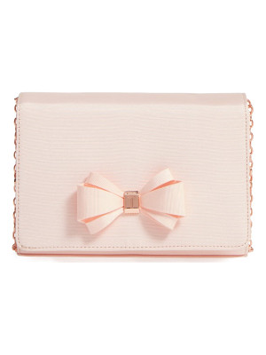 TED BAKER LONDON Grosgrain Clutch