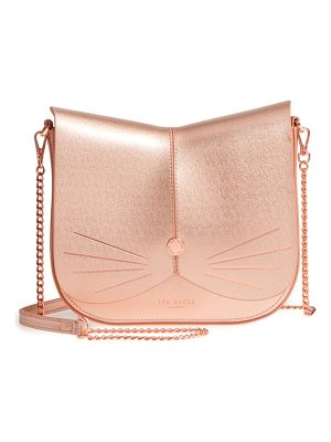 TED BAKER Kittii Cat Leather Crossbody Bag