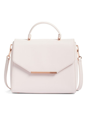 TED BAKER LONDON Large Dajana Faux Leather Top Handle Satchel