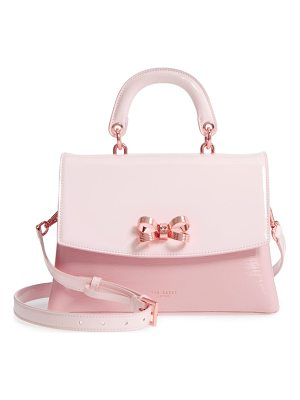Ted Baker lilacc lady bag leather top handle satchel