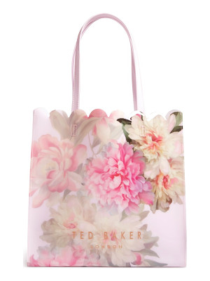 TED BAKER LONDON Painted Posie Large Icon Bag