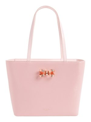 TED BAKER LONDON Small Lamica Patent Leather Shopper
