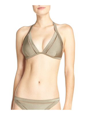 TED BAKER LONDON Triangle Bikini Top