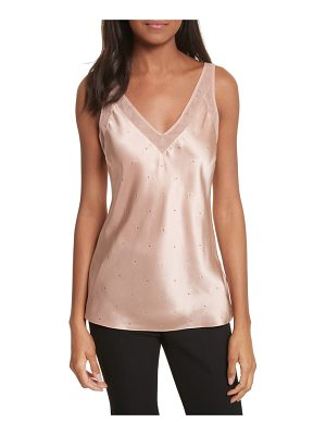 TED BAKER V-Neck Trim Sparkle Camisole