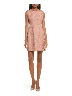 THEORY Baroque Jacquard Hourglass Dress