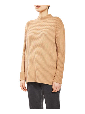 TOPSHOP Boutique cutout wool sweater