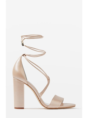 TOPSHOP Bride Beatrix Lace-Up Sandals