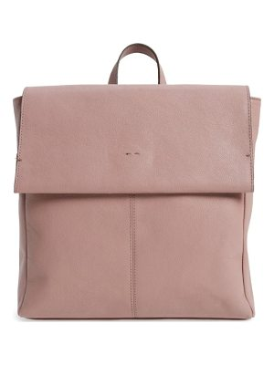 TOPSHOP Calfskin Leather Backpack