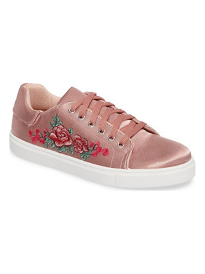 Topshop camilla embroidered sneaker