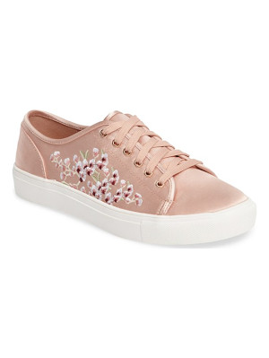 Topshop cupid embroidered sneaker