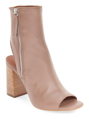TOPSHOP 'Home' Peep Toe Boot