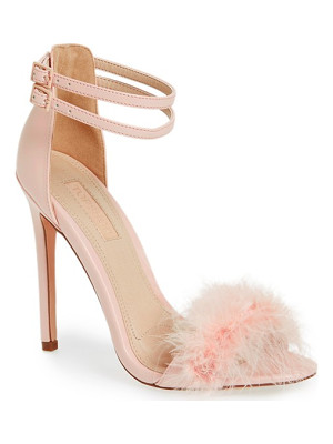 TOPSHOP 'Reese' Feather Sandal