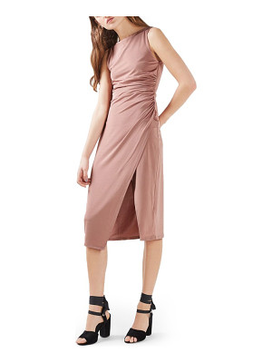 Topshop slinky midi dress
