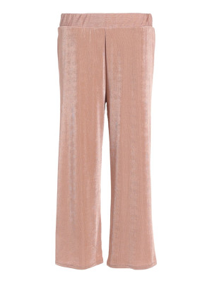 TOPSHOP Textured Wide Leg Pants