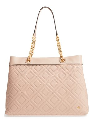 TORY BURCH Lousia Lambskin Leather Tote