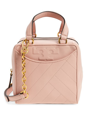TORY BURCH Mini Alexa Leather Satchel