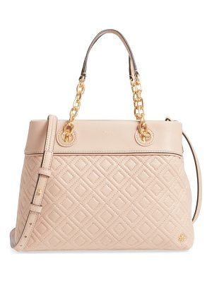 Tory Burch small fleming leather tote