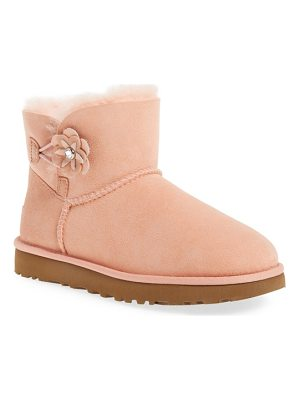 UGG Bailey Petal Genuine Shearling Lined Mini Boot