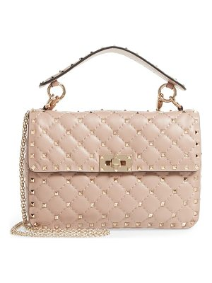 Valentino medium rockstud matelasse quilted leather shoulder bag