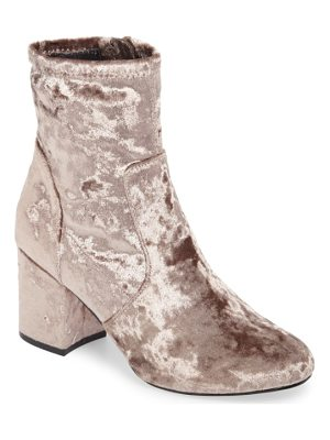 VERY VOLATILE Eclipse Velvet Sock Bootie