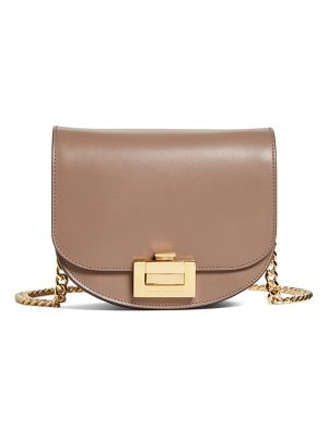 VICTORIA BECKHAM Medium Box Leather Shoulder Bag