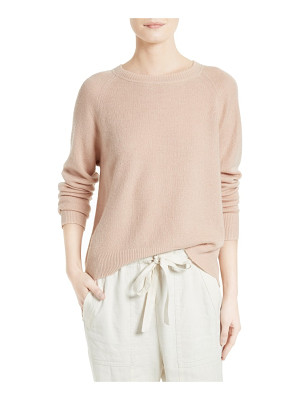 VINCE Boxy Cashmere & Linen Pullover