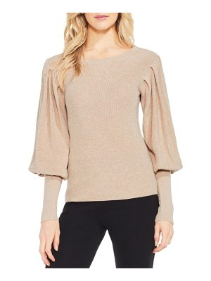 VINCE CAMUTO Bubble Sleeve Sweater