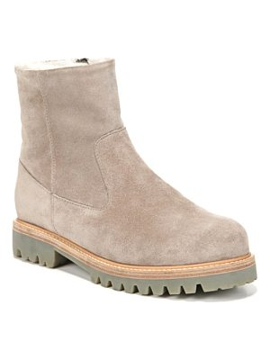 Vince frances genuine shearling lug boot
