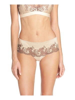 Wacoal 'lace affair' tanga briefs