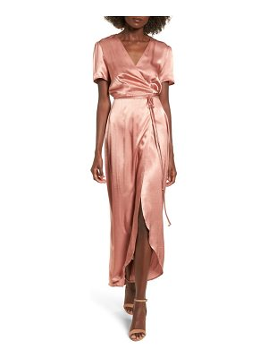 WAYF Gwyneth Wrap Maxi Dress