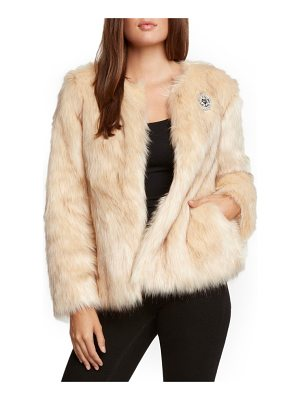 WILLOW & CLAY Faux Fur Jacket