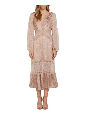 Willow & Clay lace midi dress