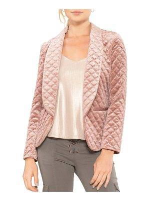 WILLOW & CLAY Quilted Blazer